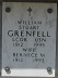 William Stuart Grenfell and Bernece M Grenfell - inscription