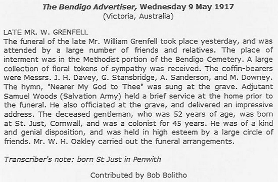 Funeral of William Grenfell