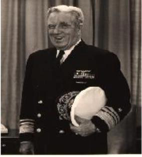 Photograph of Rear Adm. Elton Watters Grenfell US Navy