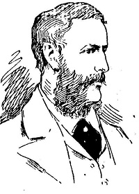Drawing of John Granville Grenfell